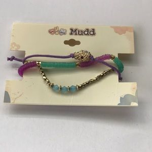 Mudd Set of 3 Fashion Bracelets